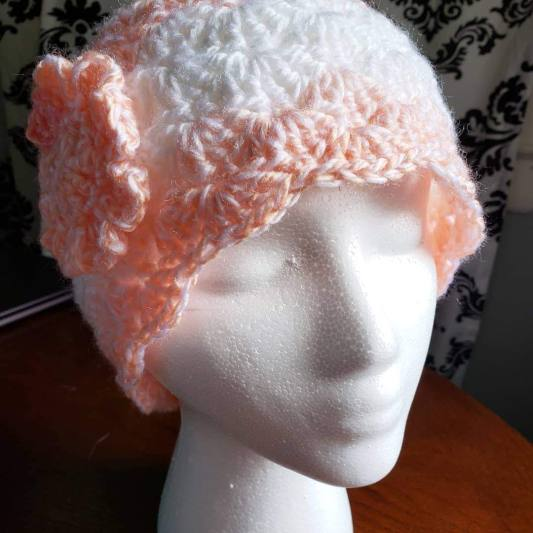 Peach Chemo Cap