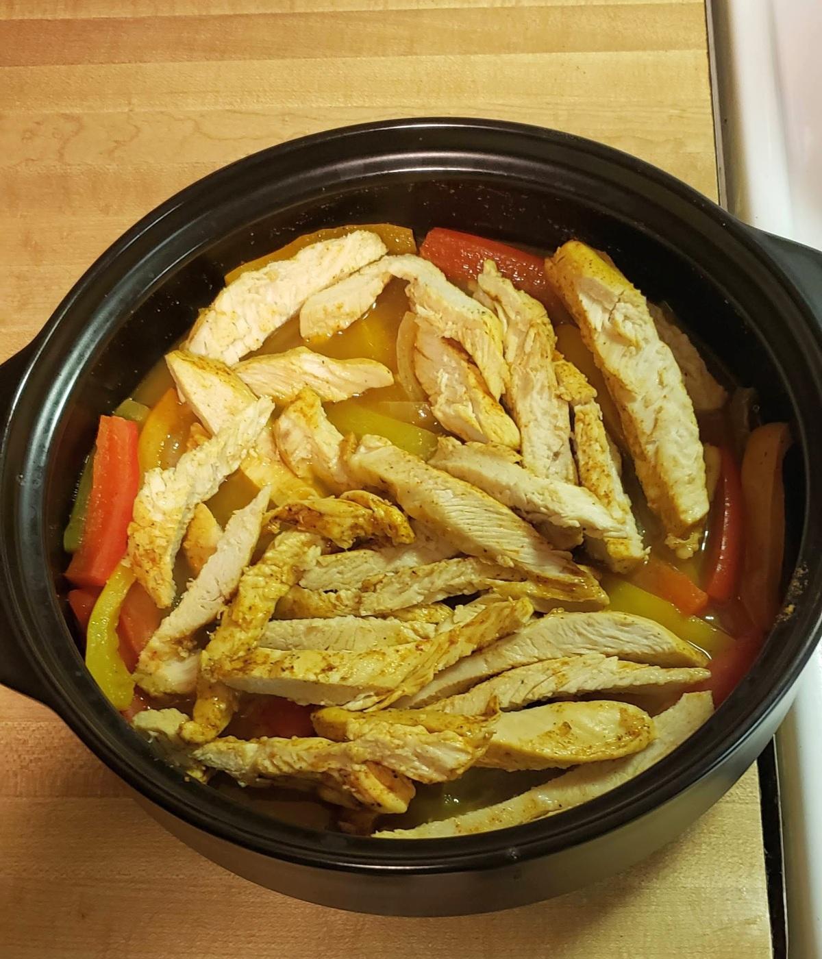 Quick Chicken Fajitas